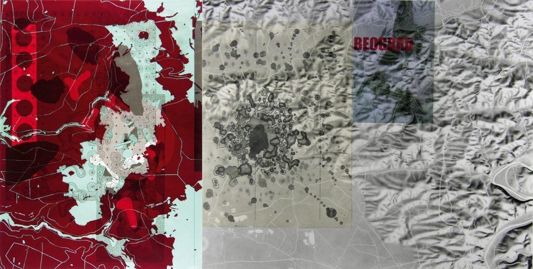 Michael Lukas, Beograd, Digitalprint auf Papier, 41 x 82 cm, 2014