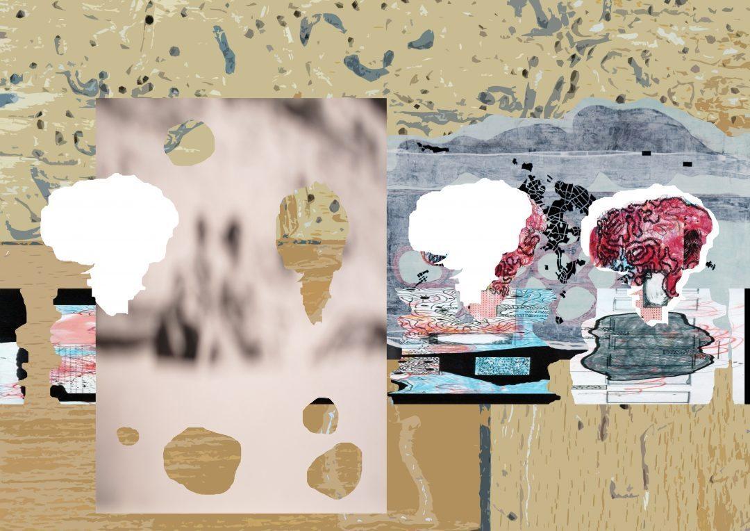 Michael Lukas, o.T., Digitalprint auf Papier, 36 x 42 cm, 2013