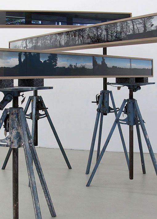 Michael Lukas, Haus der Kunst München, 2. Biennale der Künstler, Triangulation der Sehnsucht, 2015