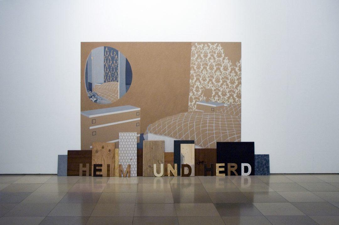 Michael Lukas, Heim und Herd, Galerie der Künstler, 2009