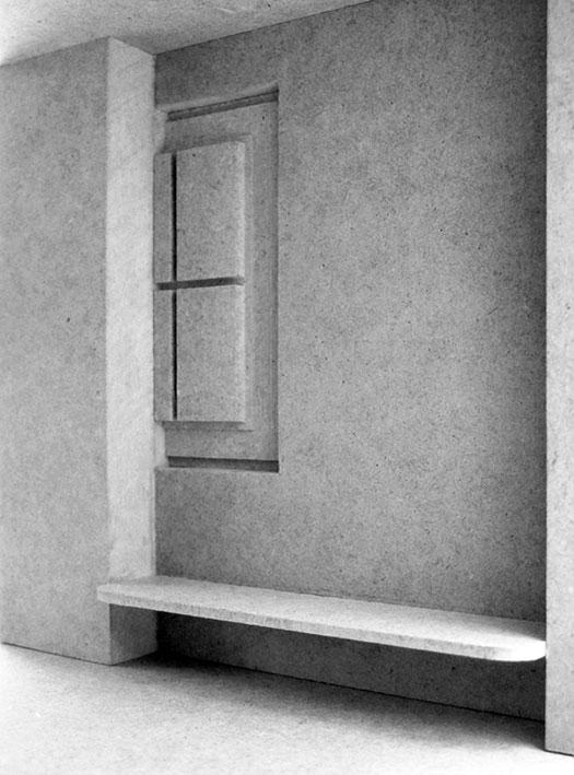 Michael Lukas, Frames, Wettbewerbsmodell M=1:20, 2015